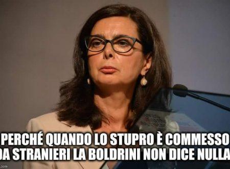 No, Presidenta Boldrini. Cosi' non va'.