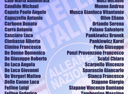 Domani a Lecce il Congresso di Fratelli d'Italia 7/10