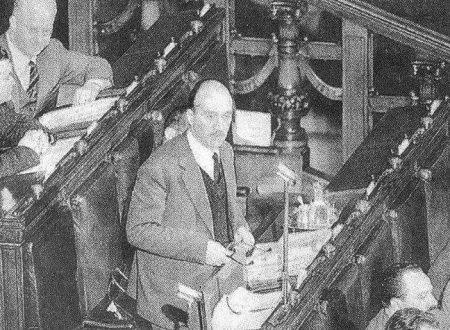 Giorgio ALMIRANTE. Contro l'abbandono di Trieste italiana