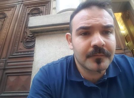 Riccardo Prisciano in sciopero della fame sotto il Ministero della difesa. La solidarietà di De Luca e Prospettive Future